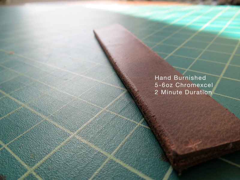 Horween Chromexcel Hand Burnished