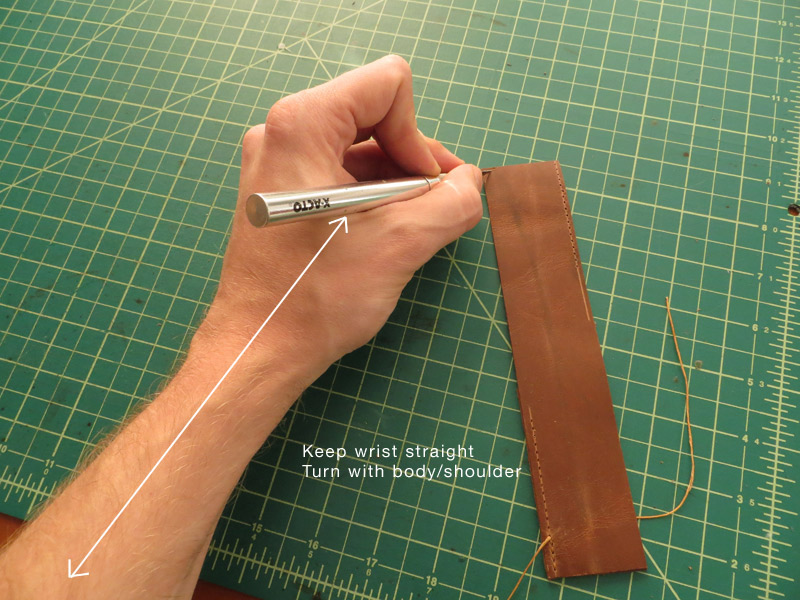 5 Tips For Cutting Curves in Leather | MAKESUPPLY