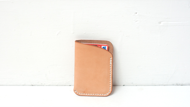 Making a Slim Leather Card Wallet