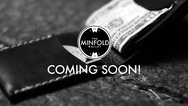 The Minfold Wallet - Coming Soon!