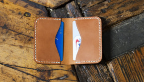 Make a Leather Card Holder - Free Template