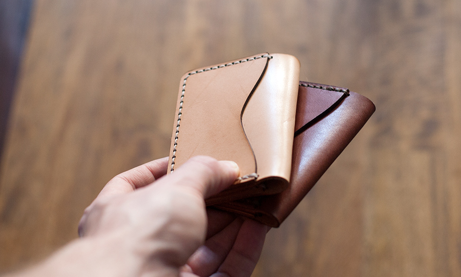 Thoroughbred Leather - Vegetable Tanned Leathers Card Holder