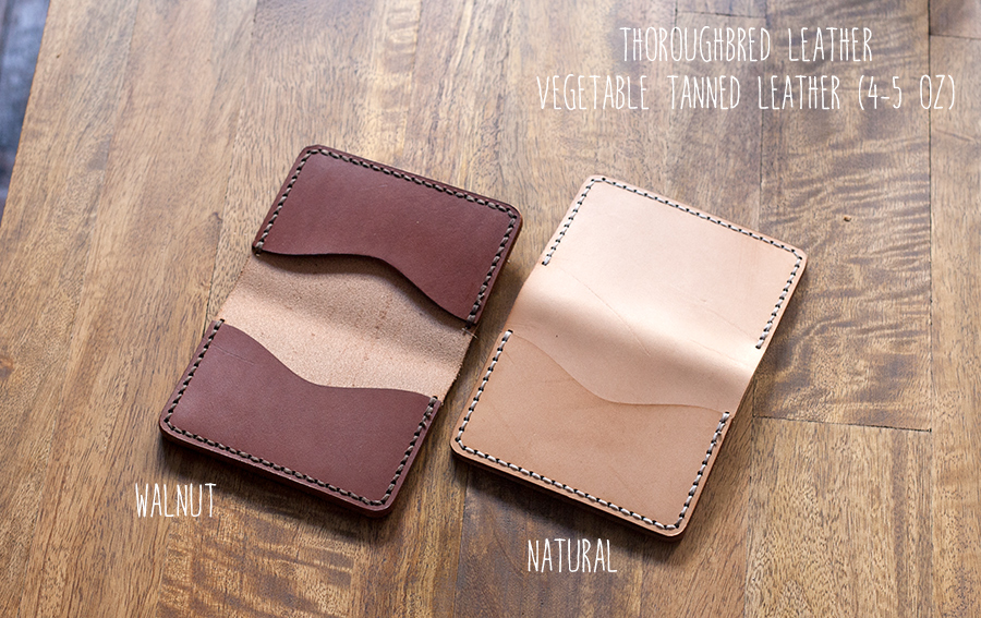Thoroughbred Leather - Vegetable Tanned Leather Review