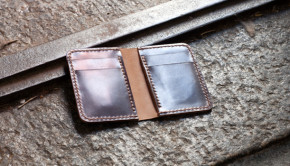 Leather Vertical Wallet Template Tutorial