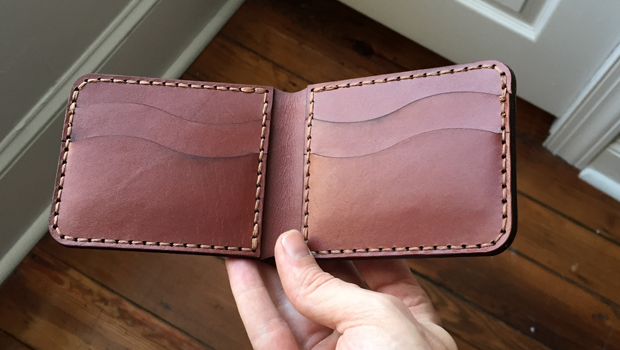 Design and Laser Cutting a Leather Wallet