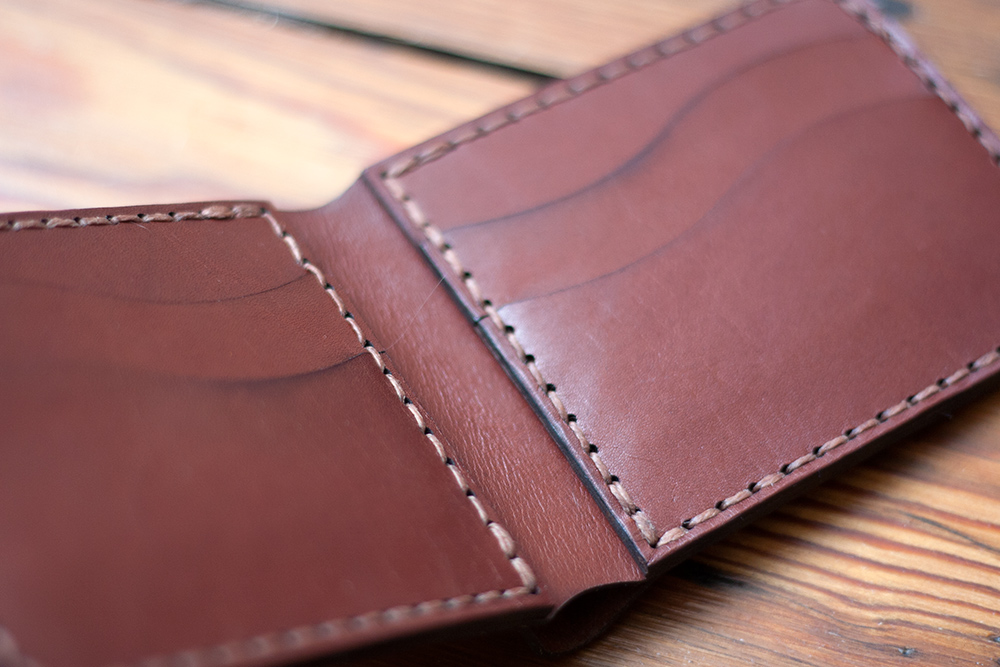 Laser Cut Leather Wallet