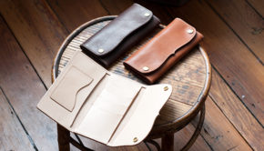 Make A Leather Roper Wallet - Free Template