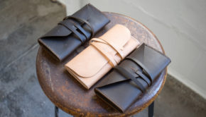 Simple Leather Clutch - Free PDF Template