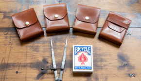 Make A Leather Playing Cards Case - Pattern Video