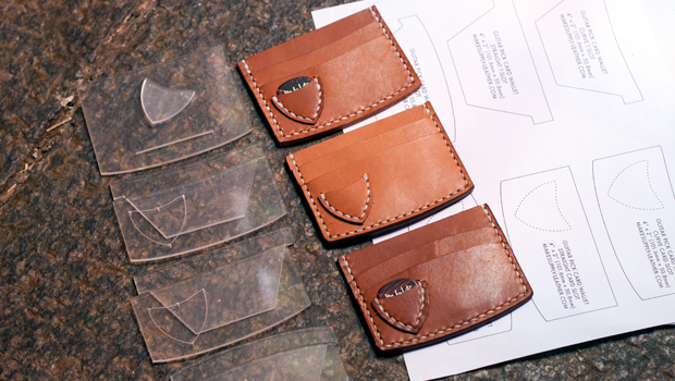 Make A Leather Guitar Pick Wallet